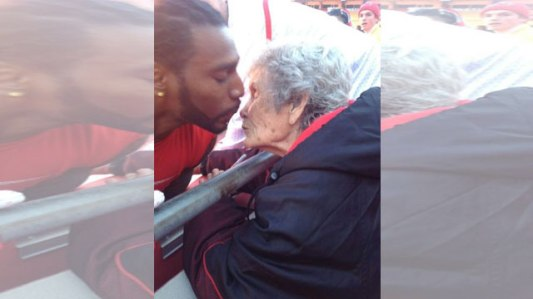 "Ailing fan passes away after visit from Chiefs Hall of Famer Posted: Apr 16, 2015 1:09 PM PDT Updated: Apr 17, 2015 5:00 AM PDT By Chris Oberholtz, Multimedia ProducerCONNECT   Betty Johnson's great granddaughter shared a photo of Dwayne Bowe kissing her grandma at a recent game in hopes for the photo to go viral. Betty Johnson's great granddaughter shared a photo of Dwayne Bowe kissing her grandma at a recent game in hopes for the photo to go viral. KANSAS CITY, MO (KCTV) - At 86 years old, Betty Johnson had been with the Kansas City Chiefs through the good times and bad. Many current players knew her as ""grandma."" As a season ticket holder since 1986, she could be seen in the front row at home games on the 45-yard line, rooting for the players who mean so much to her. Johnson passed away Thursday, but not before a visit by Chiefs Hall of Famer Nick Lowery. ""Nick Lowery was here and getting ready to leave when she passed. We knew she was waiting for her Chiefs,"" one of Johnson's four daughters, Susan Johnson, said. Her family members say the Independence woman's health had been deteriorated since breaking her hip in February. She had been in hospice care since April 7 at North Kansas City Hospital. Doctors were amazed that the great-great grandmother had held on as long as she had. Before her death, Susan Johnson said her mother had said goodbye to everyone except her Chiefs. ""I believe she (was) holding on to say goodbye to her Chiefs,"" Susan Johnson said from her mother's bedside before her passing. Betty Johnson attended almost every home game last season. She only missed three games. Her last game she saw was on Nov. 30 against the Denver Broncos. Family members recall the late Chiefs founder Lamar Hunt and Jack Steadman, a former vice Chiefs chairman, even saying hello to ""grandma"" from the sidelines. From clothing to game balls and kisses, her spirit was also noticed from the players. ""Dwayne Bowe kissed her at every game, and Dante Hall even took his coat off his back and gave to to her,"" Susan Johnson said. Betty Johnson's great granddaughter shared a photo of Bowe kissing her grandma at a recent game in hopes of the photo going viral to get one last kiss. The photo has since been seen by members in the front office of the Chiefs organization and players. ""She is such a die-hard Chiefs fans and loves them so much,"" Susan Johnson said. ""Her Chiefs were more important to her than her home."" The retired school bus driver lost her home in North Kansas City in order to pay for her Chiefs season tickets. ""She was even a Royals fan. More or less a big sports nut,"" Susan Johnson said. ""She had five daughters that she taught to love all sports."" Copyright 2015 KCTV (Meredith Corp.) All rights reserved."