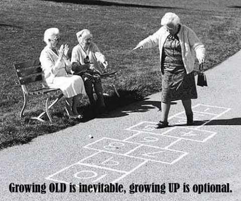 old is inevitable
