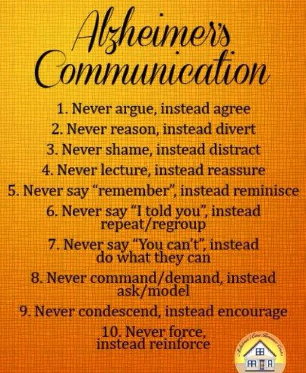 alz communication