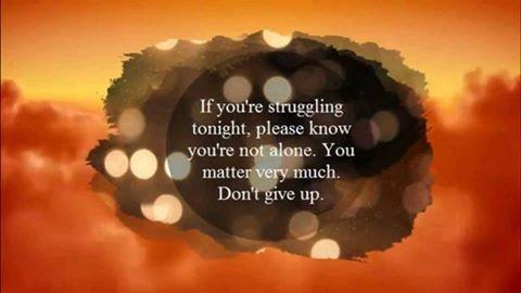 not alone struggle